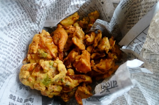 Pakora from the streets of Udaipur. Simple, best.